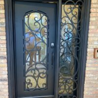 Clear Ridge in Dallas iron door after exterior view 200x200