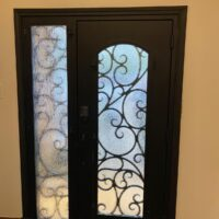 Clear Ridge in Dallas iron door after interior view 200x200