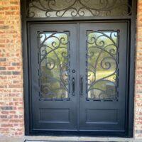 dallas entry door upgrade to iron door after exterior view 200x200
