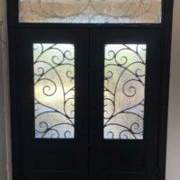 dallas entry door upgrade to iron door after interior view 200x200