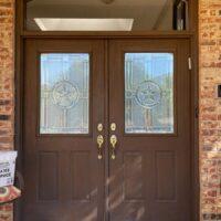 dallas entry door upgrade to iron door before exterior view 200x200